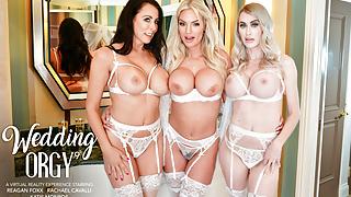 Naughty America - Rachael Cavalli surprises her bridesmaids