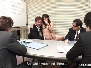 Cheney dick interview Asian cute babe interviews for a job sucking dicks