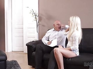 Dad fucked my boyfriend Daddy4k. handsome and rich dad of boyfriend fucks his pretty