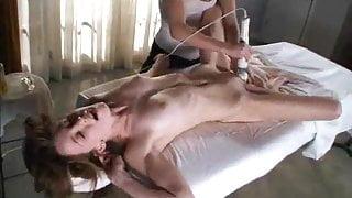 Multiple orgasmic massage with magic wand