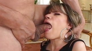 Young MILF step mom fucked in the mouth