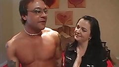 Sandra Romain Fucks a Man in a Wild Threesome