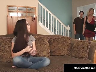 Redtube dad mom fuck baby sitter Milf charlee chase hubby fuck baby sitter