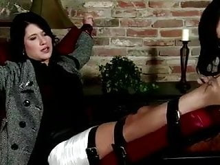 Lick foot girl - Sexy tied up girl, gets her feet and soles licked