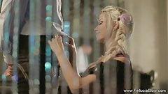 Sensual German Blonde Secret Garden BJ Session For Lovers