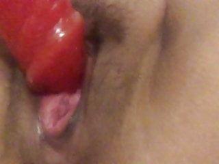 Girl squirting with dildo Squirting with dildo
