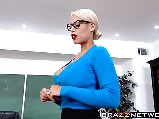 Lesbian teacher seduces female student videos - Busty teacher bridgette b seduces her young student