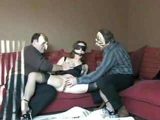 Men and women pantyhose - Wife training by older men decided