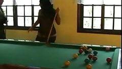 Pool Billard Fisting