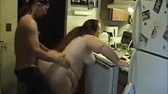 Amateur BBW hardcore sex