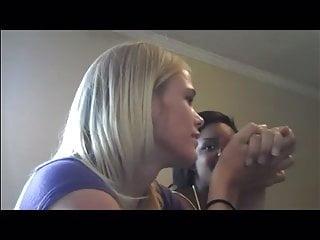 Under 18 gay videos - Under the table footjob and handjob
