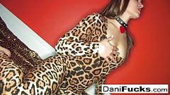 Dani Daniels fingers her tight wet pussy