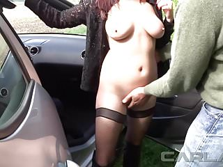 Swinger carla mcintire - Carla dogging avec un fan part1