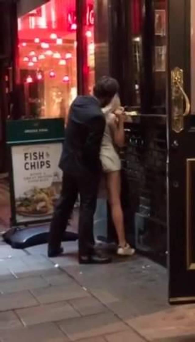 Girl Caught Public Squirt