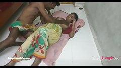 Hinduska indyjka wieś telugu para romans, jebanie na podłodze