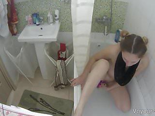 Voyeur hidden camera girls fucking - Purple dildo fucking with two hot girls