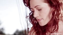 Sensual Lesbian Lovers Kissing And Connecting And enjoying