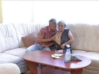 Dust sex Granny gets dusted down