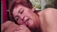 Mature Granny Gets Some Real Cock
