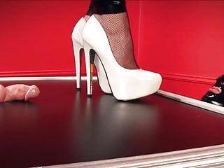 High heels trample adult - Trampling