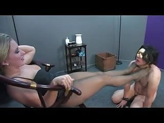 Domme girlfriend bdsm stories Pantyhose domme
