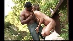 Rich Girl Fucking Huge Black Dick At Jungle Villa's Pool