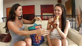 Melissa Jordan and Audrina Ashley have hardcore sex