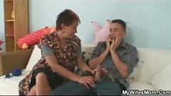 Janet Palova hot czech milf seduce her daughter's boyfriend