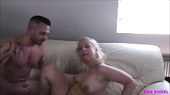 EVA ENGEL: Hot MILF From Tinder Fucks At First Date