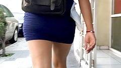 Teen Mini Skirt . Ass Walking 2