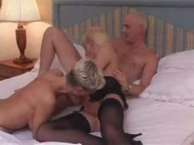 Old Couple Young Guy Threesome