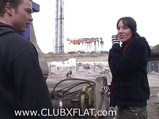 Naked construction workers video Clubxflat- fucked by the construction worker