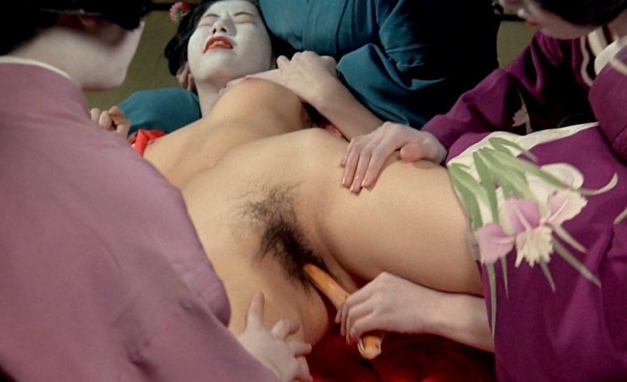 The final sex scene in in the realm of the senses