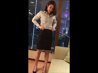 Mature student and job search sites Chinese student strips and gives blowjob after job interview