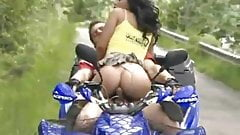 We Can't Figure Why This Couple In Paraguay Decided To Have Sex While Riding A Bike
