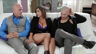 She fucks him as she is angry as hell