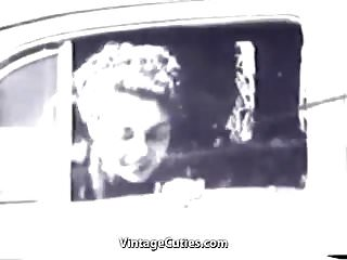 Whats a sexual reprudction Car driver gets a sexual pleasure 1940s vintage