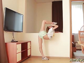 Contortion pussy Skinny real flexible teen contortion