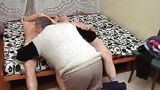 2 russian boys fuck daddy