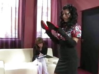 Best price sexy womens shoes - Sexy satin lesbians in shoe store