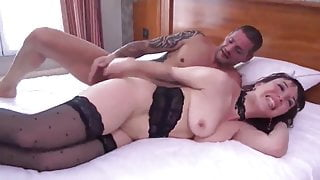 Fuck to orgasm with kinky French wife