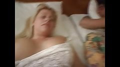 Son Fucks Mom While Dad's Asleep