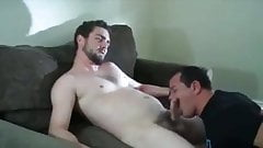 STRAIGHT GETTING FIRST GAY BLOWJOB TRIBUTE