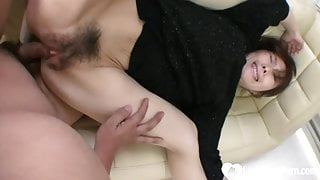 Skinny Asian gets plowed in various positions