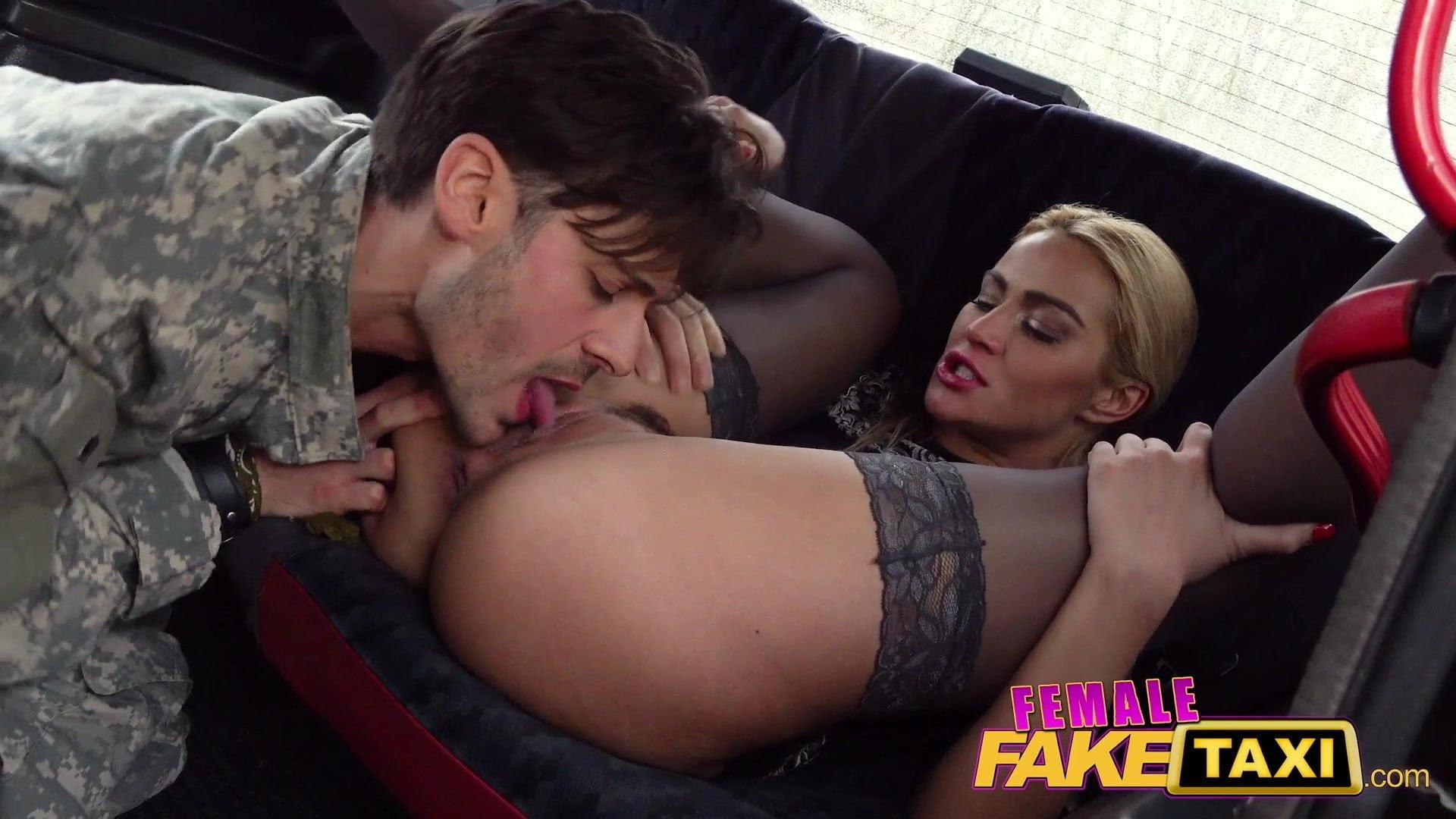 Female Fake Taxi Elicia Solis