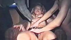 Swedish girl in swingerclub