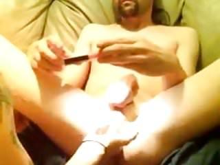 Girl on guy anal play porn Play anal guy