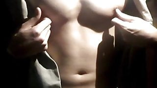 SA5-003 Muscle man Jerking Off