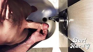 Jerking off in shower! POV cumming! 4K