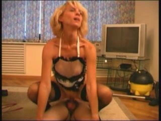 Blonde Mature Milf Doggystyle